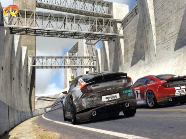 Скриншот из игры : TrackMania 2 - Canyon www.FG-TORRENT.com.
